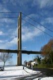 Humber-Brücke, Kingston nach Rumpf lizenzfreie stockfotografie