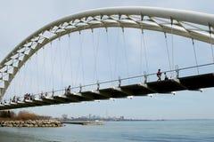 humber bridżowa rzeka Zdjęcie Royalty Free