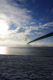 Humber Bridge Royalty Free Stock Photography