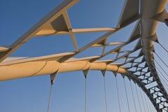 Humber Bridge. The pedestrian humber bridge in Toronto royalty free stock photo