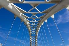 Humber Bridge arch closeup Stock Images