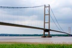 The Humber Bridge in England, UK Stock Photo