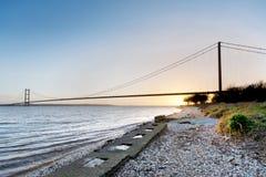Humber Bridge Royalty Free Stock Photo