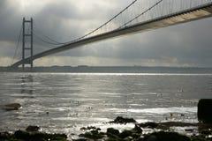 Humber Bridge, Kingston upon Hull. Stock Images