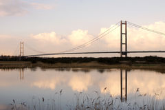Humber Bridge, Kingston upon Hull. Royalty Free Stock Photo