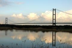 Humber Bridge, Kingston upon Hull. Stock Photo