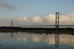 Humber Bridge, Kingston upon Hull. Stock Photography