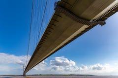 Humber Bridge, East Riding of Yorkshire, UK. Humber Bridge, near Kingston upon Hull, East Riding of Yorkshire, UK Stock Image