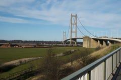 Humber bridge. View of the Humber Bridge looking North Stock Images