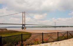 Humber bro Arkivfoton