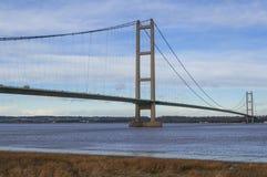Humber bro Arkivbild