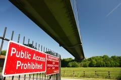 Humber bro, Kingston på skrov Fotografering för Bildbyråer