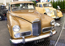 Humber 2000 cc On Display. Royalty Free Stock Photography