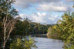 Humber rzeka Newfoundland fotografia royalty free