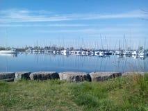 Humber zatoki Marina zdjęcia royalty free