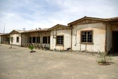 Humberstone - cidade fantasma no Chile imagens de stock royalty free