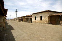 Humberstone - ghost town in Chile Royalty Free Stock Image