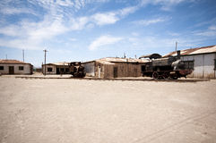 Humberstone - ghost town in Chile Royalty Free Stock Photography