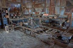 Humberstone Saltpetre Works Stock Image