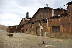 Humberstone - spookstad in Chili Stock Afbeelding