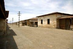 Humberstone - ville fantôme au Chili image libre de droits