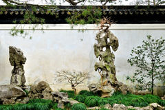 Humble Administrator's Garden. Is the representative works of Chinese Jiangnan classical garden.In 1997 was approved by UNESCO included in the World Heritage stock images