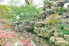 Humble Administrator's Garden. Is the representative works of Chinese Jiangnan classical garden.In 1997 was approved by UNESCO included in the World Heritage royalty free stock photo