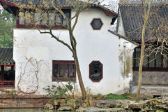 Humble Administrator's Garden. Is the representative works of Chinese Jiangnan classical garden.In 1997 was approved by UNESCO included in the World Heritage royalty free stock image