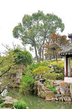 Humble Administrator's Garden. Is the representative works of Chinese Jiangnan classical garden.In 1997 was approved by UNESCO included in the World Heritage royalty free stock images