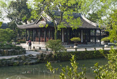 Humble Administrators Garden in Suzhou, Jiangsu Far Xiang Tong Royalty Free Stock Photo
