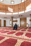 Humble African Muslim Prayer Royalty Free Stock Photo