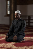 Humble African Muslim Prayer Stock Photos