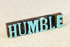 Free Humble Kind Faith Quiet Help People Honest Grateful Kindness Stock Photography - 176854082