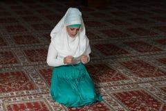 Humble Muslim Prayer Woman Royalty Free Stock Images