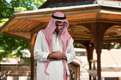 Humble Muslim Prayer Royalty Free Stock Photography