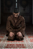 Humble Muslim Prayer Royalty Free Stock Image