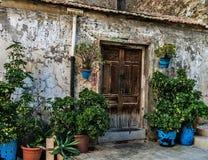 In a humble neighborhood of Alicante stock photos