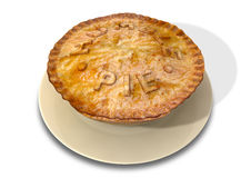 Humble Pie Stock Image