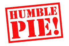 HUMBLE PIE! Stock Photography