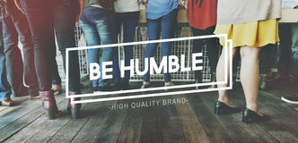 Humble Polite Respect Sharing Sincere Support Concept. Humble Polite Respect Sharing Sincere Support Royalty Free Stock Photos