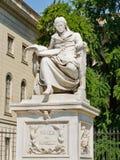 humboldt статуя von wilhelm стоковая фотография rf