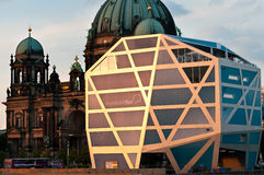 Humboldt-Box and Berliner Dom in Berlin Stock Photos