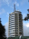 Caracas, Humboldt Hotel founded in 1956 on the top of the Cerro El Ávila 2.105 mts above the city of Caracas, Venezuela. Humboldt Hotel founded in 1956 on the stock photo