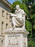 humboldt statue冯wilhelm 免版税图库摄影
