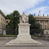 Humboldt-Universitat zu Berlin (Berlin's Humboldt University) named in honor of its founder - Berlin Royalty Free Stock Photo