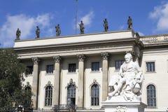 Humboldt universitet Arkivbild