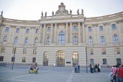 Humboldt universitet av Berlin, Tyskland Arkivfoto