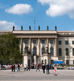 The Humboldt University of Berlin Royalty Free Stock Photo