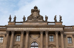 The Humboldt University of Berlin Royalty Free Stock Image