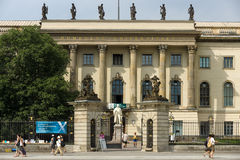 Humboldt University of Berlin Royalty Free Stock Images